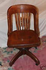 antique desk chair office swivel slat back circa early 1930s rare antique office chair