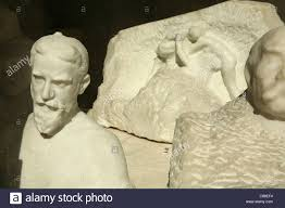 writer george bernard shaw stock photos writer george bernard marble bust of writer george bernard shaw by sculptor e rodin seen in the musee rodin