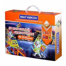 <b>Конструктор магнитный Магникон Карусель</b> 46 дет - купить в ...