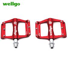 <b>wellgo</b> 3 bearings ultralight <b>bike pedals aluminium</b> Anti slip ...