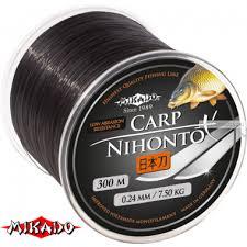 Купить <b>Леска</b> мононить <b>Mikado Nihonto</b> Carp 300 м цена 578 ...