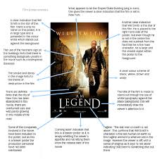 film poster analysis i am legend by natalie aknproductions s blog first looking at the teaser poster i came to the following conclusions