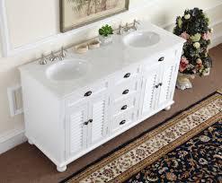 bathroom vanity 60 inch: adelina  inch antique white double sink bathroom vanity