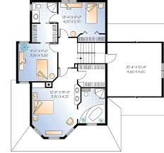 Compact Guest House Plan   DR   nd Floor Master Suite  Bonus    Reverse Floor Plan Pinit white