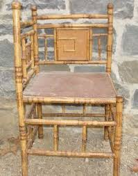 antique asian bamboo corner chair chinese bamboo furniture