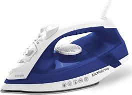 Купить <b>утюг Polaris PIR 2240AK</b> Керамическое покрытие, синий ...