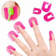 <b>26 Pcs</b> 1 Set/Pro Manicure <b>Finger</b> Nail Art <b>Case</b> Design Tips <b>Cover</b> ...