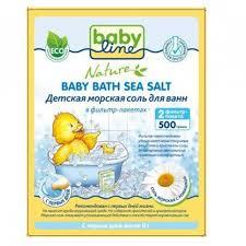 Купить <b>соль для детской</b> ванны BabyLine Nature <b>Детская морская</b> ...