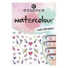 <b>Essence</b> Наклейки для ногтей Watercolour Nail Stickers № 07, 1 шт.