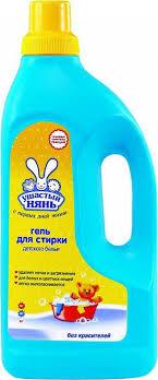<b>Ушастый нянь Гель</b> для <b>стирки</b> детского белья 1,2 л