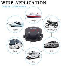 Input <b>Car</b> Motorcycle Waterproof LED Digital Voltmeter Panel Volt ...