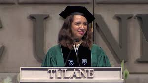 most inspirational graduation speeches of campus life news actress a rudolph speaks at tulane university s commencement photo screenshot