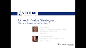 linkedin value strategies what s now what s next on vimeo linkedin value strategies what s now what s next