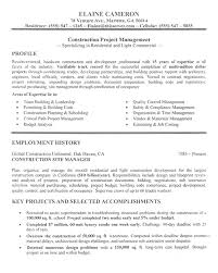 construction manager resume example   sampleconstruction manager resume example