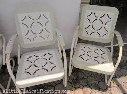 outdoor furniture restoration hardware. fabulous vintage metal outdoor furniture patio makeover a restoration hardware rescue