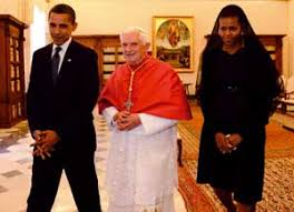 Obama e Benedetto XVI