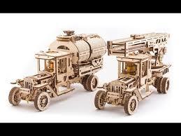 3D-<b>пазлы</b> Ugears: Механизированные <b>деревянные игрушки</b> ...
