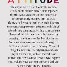 Attitude - Charles Swindoll | Words of wisdom | Pinterest