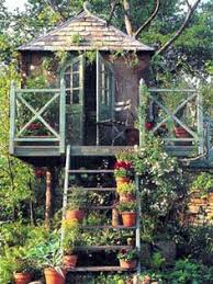 Geodesic tree house  On the ground but its supposed to be a tree    a tree house in the garden