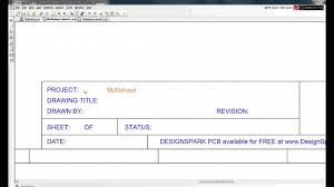 designspark pcb tutorial setting up a project and schematic designspark pcb tutorial setting up a project and schematic sheets