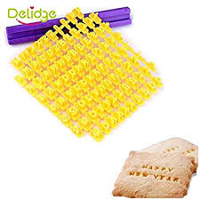 Buy Generic <b>26 English Letter Cookie</b> Molds 1 set Online at Low ...
