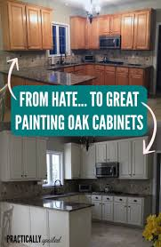 Kitchen Cabinet Painting Our Oak Kitchen Makeover Welcome Home Grey And Cabinets
