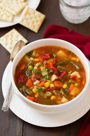 <b>Vegetable Soup</b> - Cooking Classy
