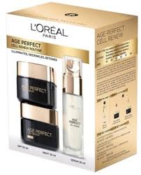 L'<b>Oreal Paris</b> Age Perfect Cell Renew Program Set 50ml+50ml+ ...