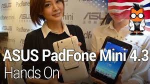 ASUS PadFone Mini 4.3 Hands On - YouTube