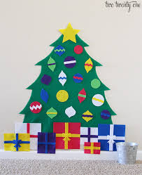 <b>Felt Christmas Tree</b> + FREE Patterns
