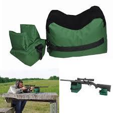 hunting portable <b>shooting rear gun</b> rest bag set <b>front & rear</b> target ...