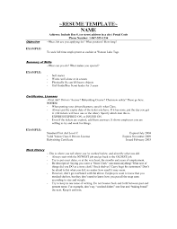 example resume for cashier template example resume for cashier