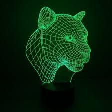 3D лампа Veila 3D Тигр 1044 - dostovernost.ru