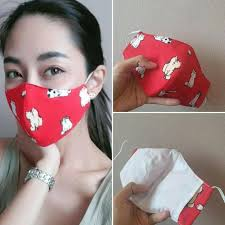 Pin on mask , covering