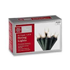 60 light led white string lights bed bath and beyond lighting