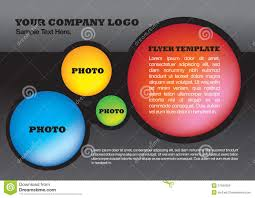 abstract circle design brochure flyer layout template stock photos flyer design layout template royalty stock images