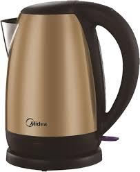 Купить <b>электрический чайник Midea MK</b>-8042, Металл, медный ...