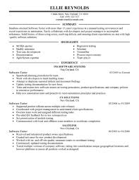 sample resume for qtp tester professional resume cover letter sample sample resume for qtp tester qa qtp tester resume in brunswick nj dev bistro tester resume