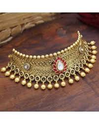 <b>Gold Choker</b> Online - 75+ <b>Gold Choker</b> Set Designs with Price