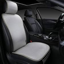EDEALYN <b>1 Piece</b> Breathable Ultra-Thin Ice Silk Non-Slip <b>Car</b> Seat