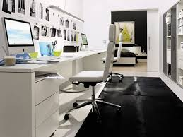 furniture the glamorous inventive black and white home office layout idea for two by huelsta includes black white home office inspiration