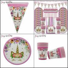 <b>Unicorn</b> Party Supplies Birthday Bundle for Girls - Complete Set ...