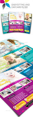 babysitting and daycare flyers by inddesigner graphicriver babysitting and daycare flyers corporate flyers