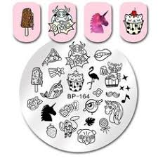 1 Pc 12*6cm <b>Rectangle Stamping</b> Plate Happy Easter Pattern ...