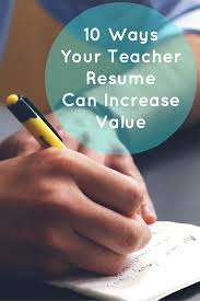 10 school teacher resume writing tips to ensure you shows your don t miss these school teacher resume writing tips to ensure you communicate the value you can bring to the school and its students