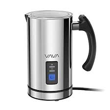 Milk Frother, VAVA Electric Liquid Heater with <b>Hot</b> or Cold Milk ...