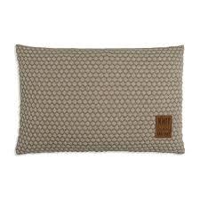 Juul Cushion 60x40 <b>Seda</b>/Olive | Knit Factory