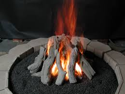 fire pit logs designs
