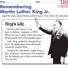 black history month printables time for kids remembering martin luther king jr