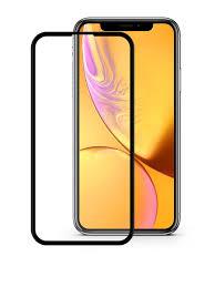 <b>Защитное стекло Mobius</b> для Apple iPhone XR 3D Full Cover (Black)